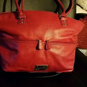 nine west red bag